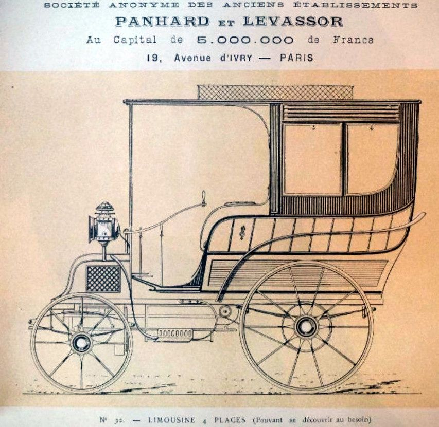 Catalogue Panhard Levassor 1893-95 ?