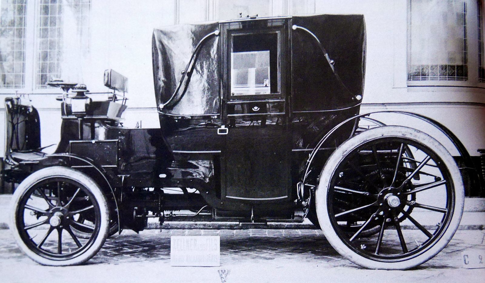 Landau automobile Kellner