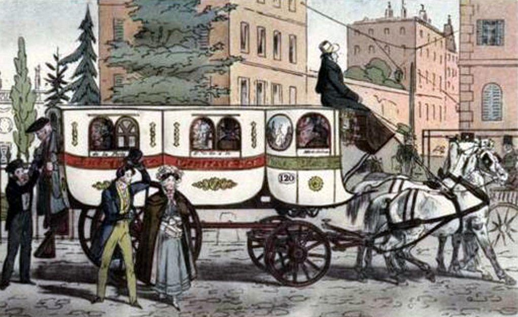 Omnibus privé 1: de gare, d'hotel, de pensionnat