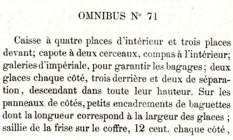 Omnibus Privé 2: Omnibus à capucine