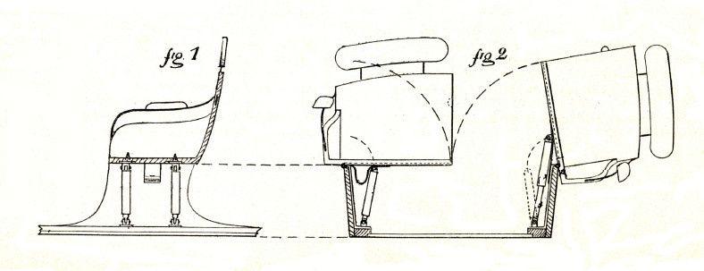 Sièges basculants du char-à-bancs (La Carrosserie Française, 15 septembre 1901)