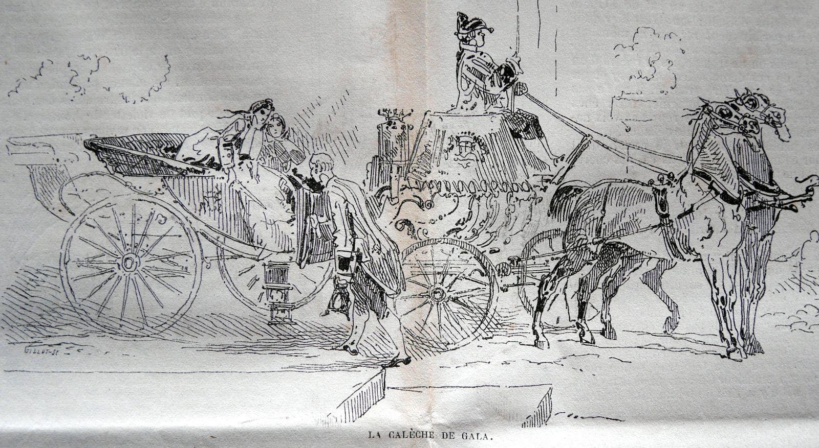 Commentaires sur les voitures&#x3B; datés de 1865