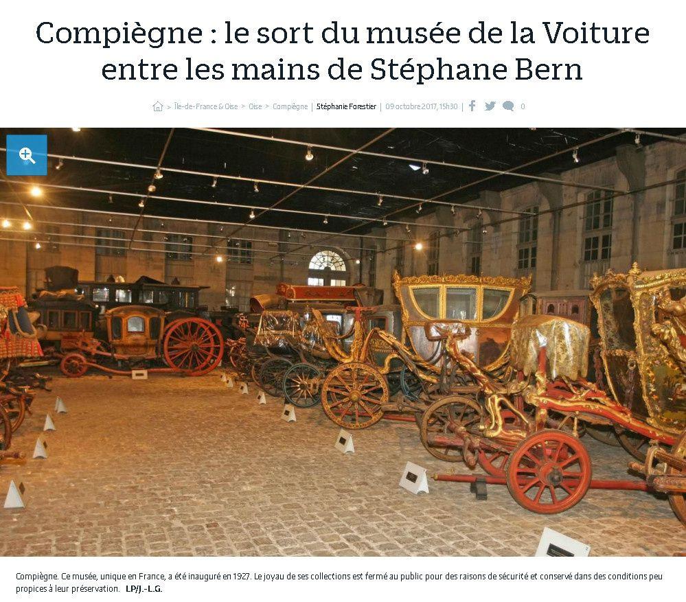 Stéphane Bern et Compiègne&#x3B; espoir ou ...nouvelle désillusion?