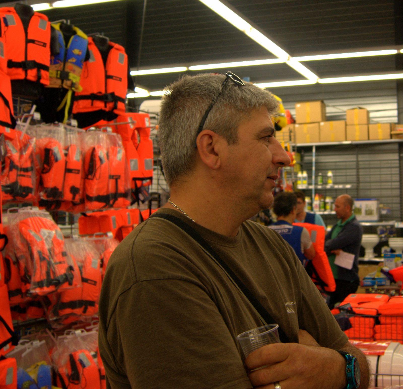 Pat, le pêcheur des calanques.