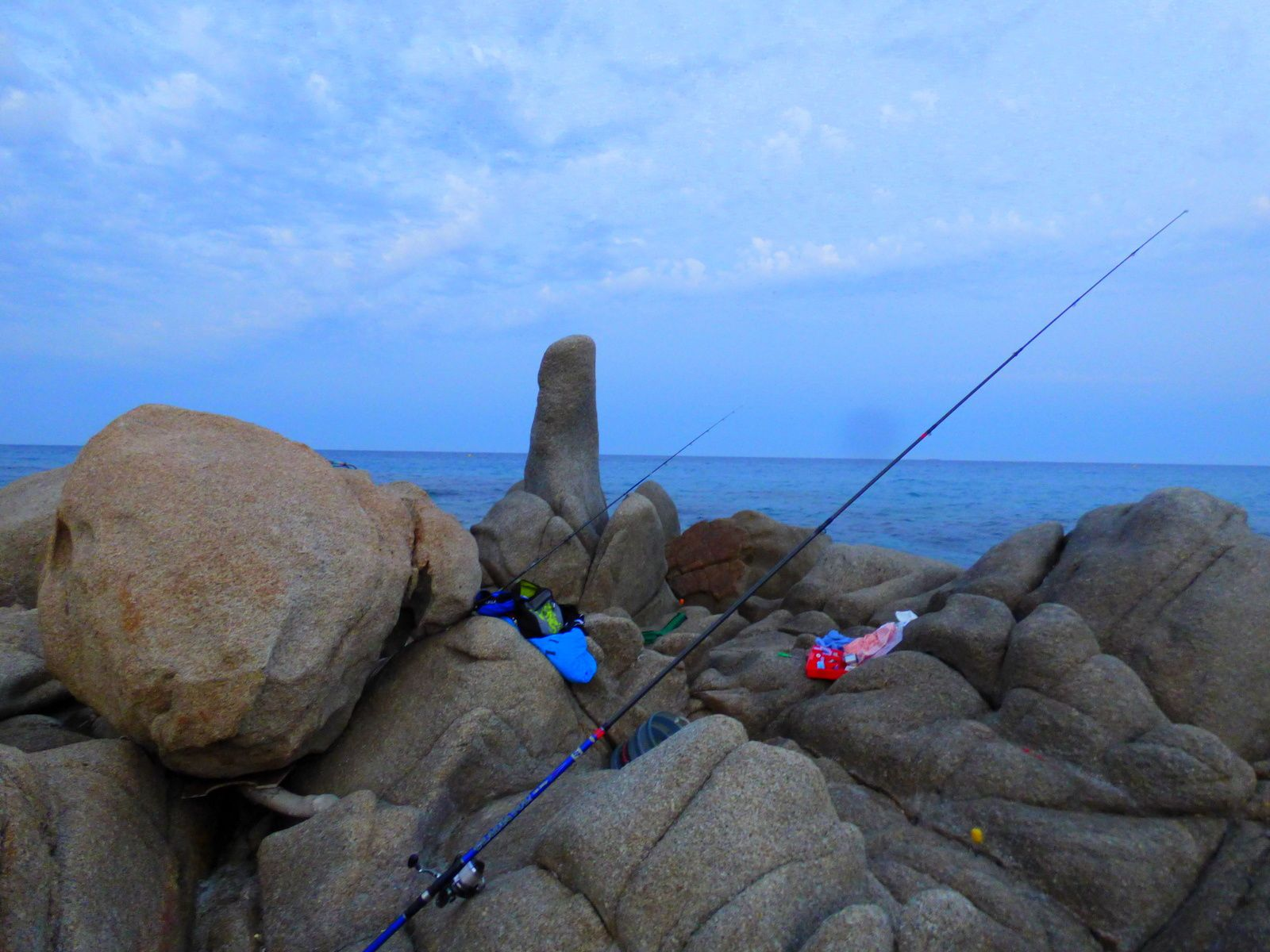 La reprise de la pêche.