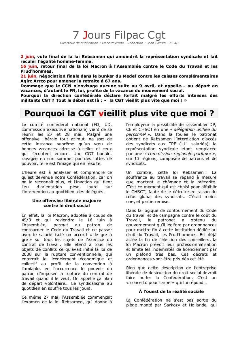 Ce qui se joue en ce moment et quel est le mandat de la délégation CGT?
