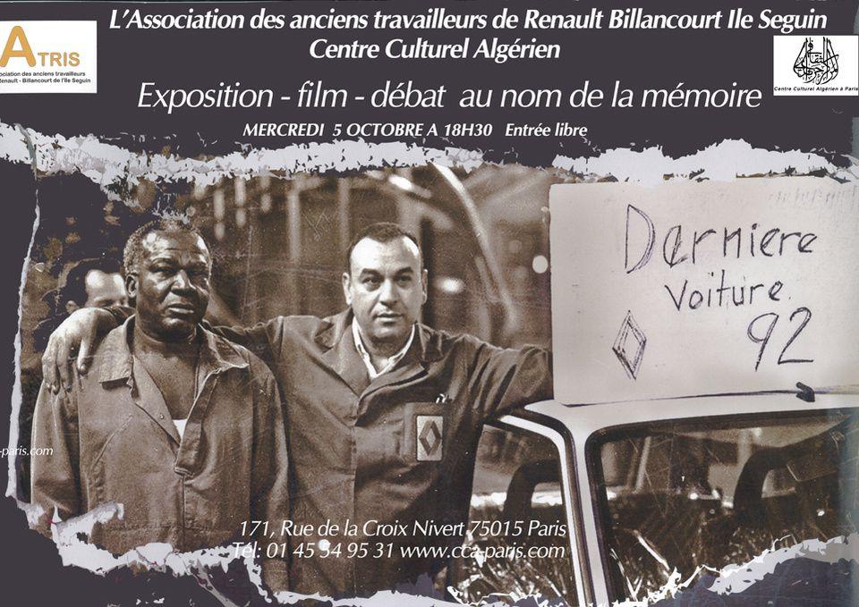 Renaul-Billancourt : Mémoire ouvrière, mémoire des luttes