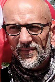 Cédric Caubère secrétaire départemental de la CGT.