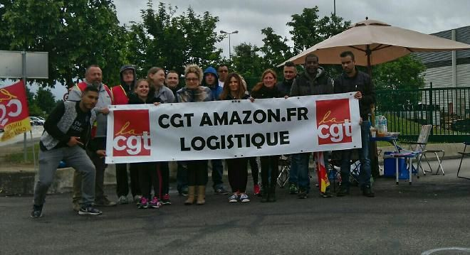 Amazon : 2 délégués syndicaux en justice!