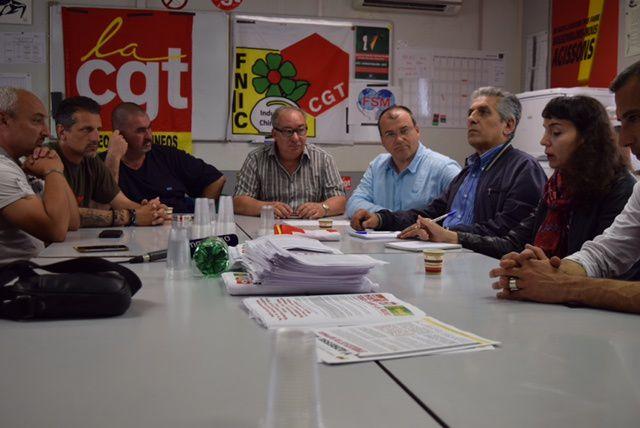 Solidarité de la FSM : son secrétaire général à Marseille