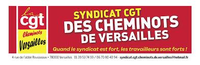Les cheminots CGT de Versailles : bloquer l'accord Vidalies / Pépy / CFDT