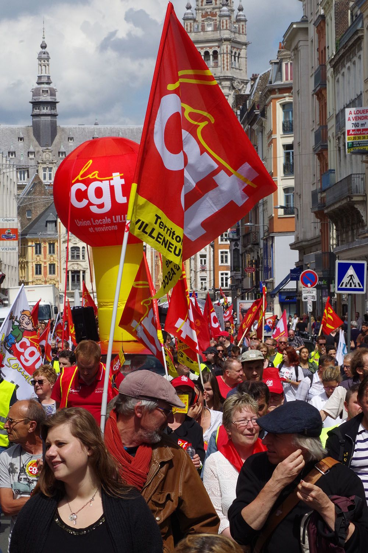 28 juin L'UD CGT du Nord : libérez nos camarades!