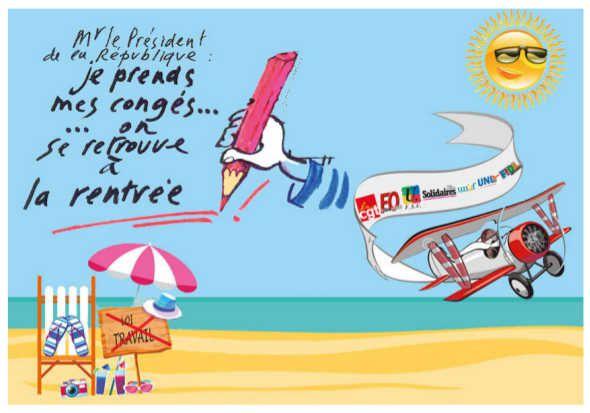 Loi travail : Hollande tu es loin d'en avoir fini!