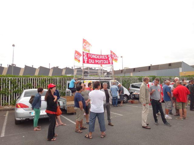 Fonderie du Poitou : grève pour l'embauche, contre la précarité!