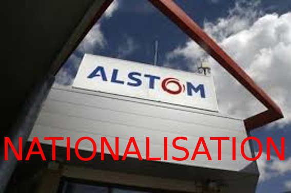 Alstom : nationalisation ... sans indemnité!