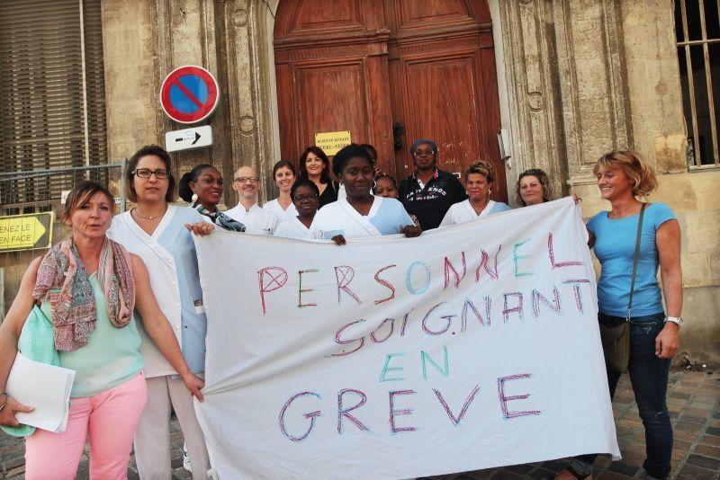 Bordeaux : l'Ehpad Terre-Nègre en grève depuis 14 jours