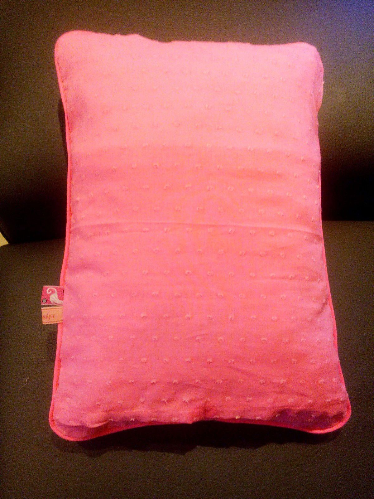 Un coussin &quot&#x3B;so girly&quot&#x3B;