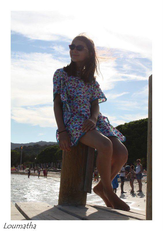 Les robes de plage in situ