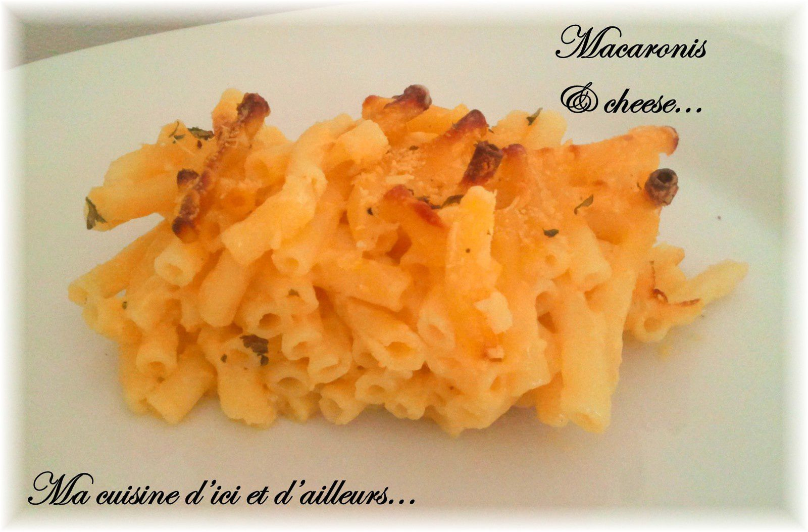 Macaronis &amp&#x3B; cheese...