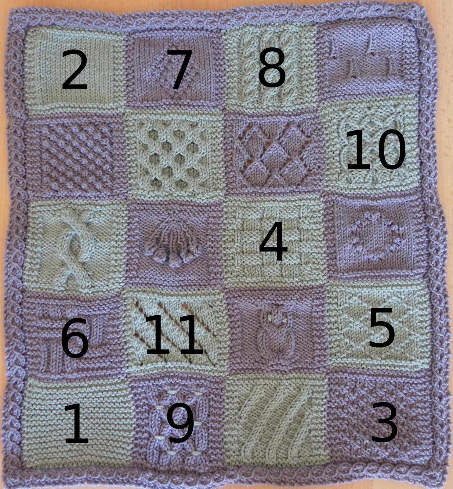 KAL boucle d'or version adulte : carré 11