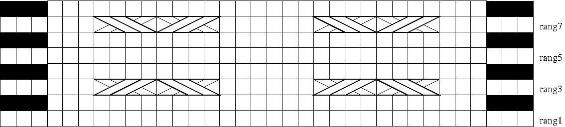 KAL boucle d'or version bébé : carré 14 version B