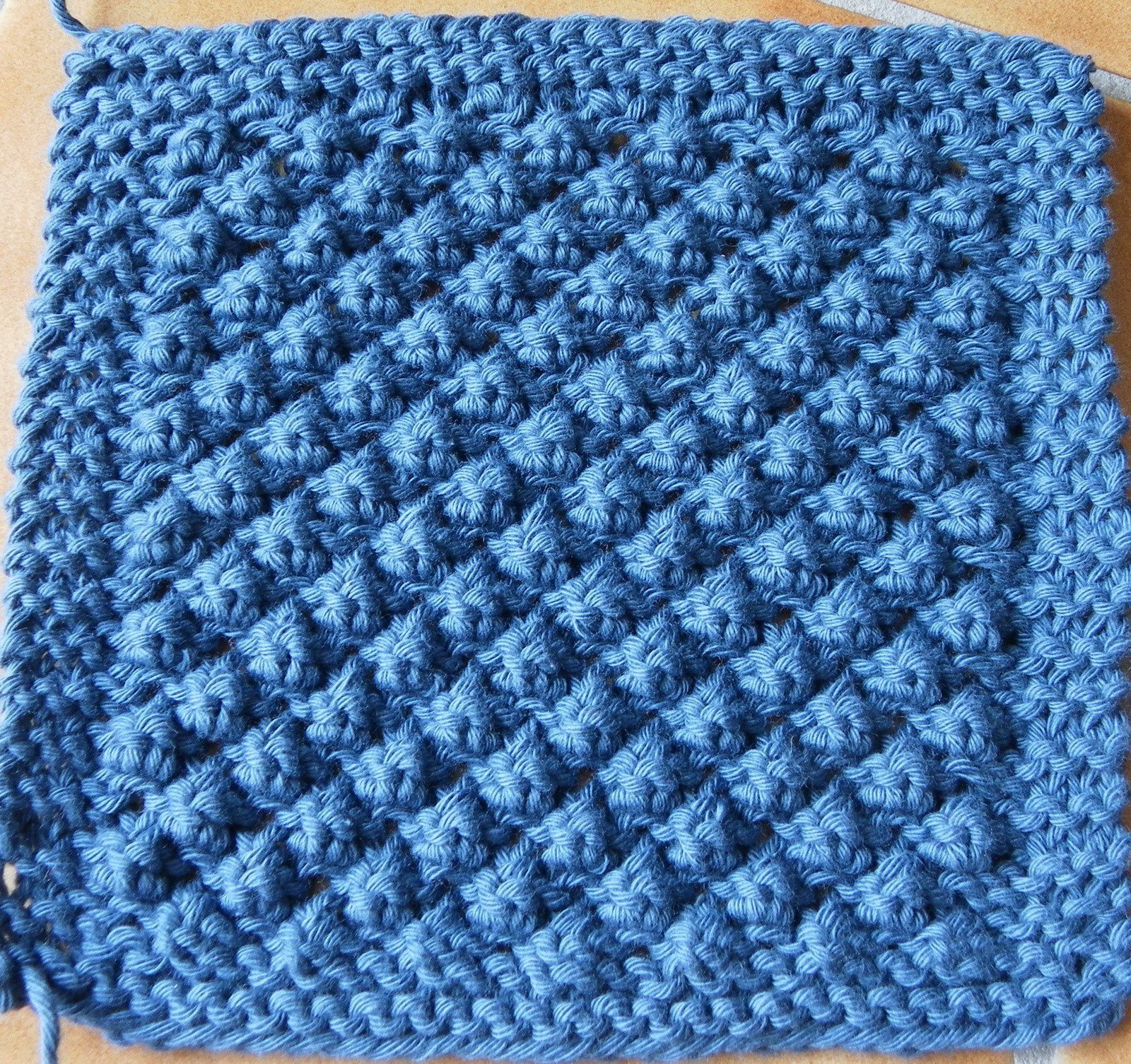 KAL boucle d'or version bébé : carré 15 version A