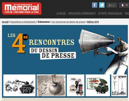 4e Rencontres du dessin de presse au Mémorial de Caen