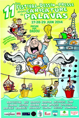 31e festival de dessin de presse de Palavas-les-Flots