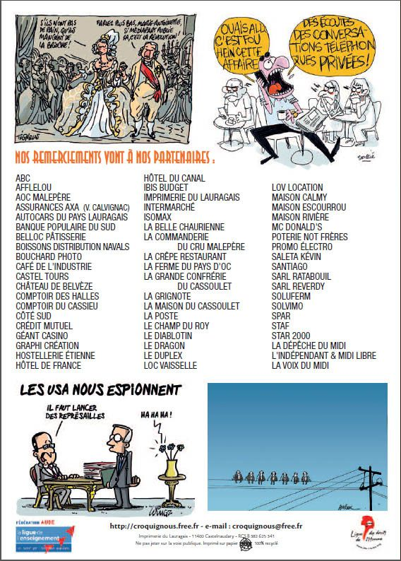 17° Festival de la Caricature et du Dessin de Presse de Castelnaudary
