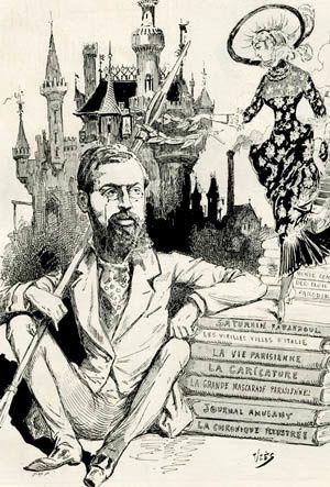 &quot&#x3B;Albert Robida (1848-1926), un dessinateur fin de siècle dans la société des images&quot&#x3B; : soutenance de thèse (Sandrine Doré)
