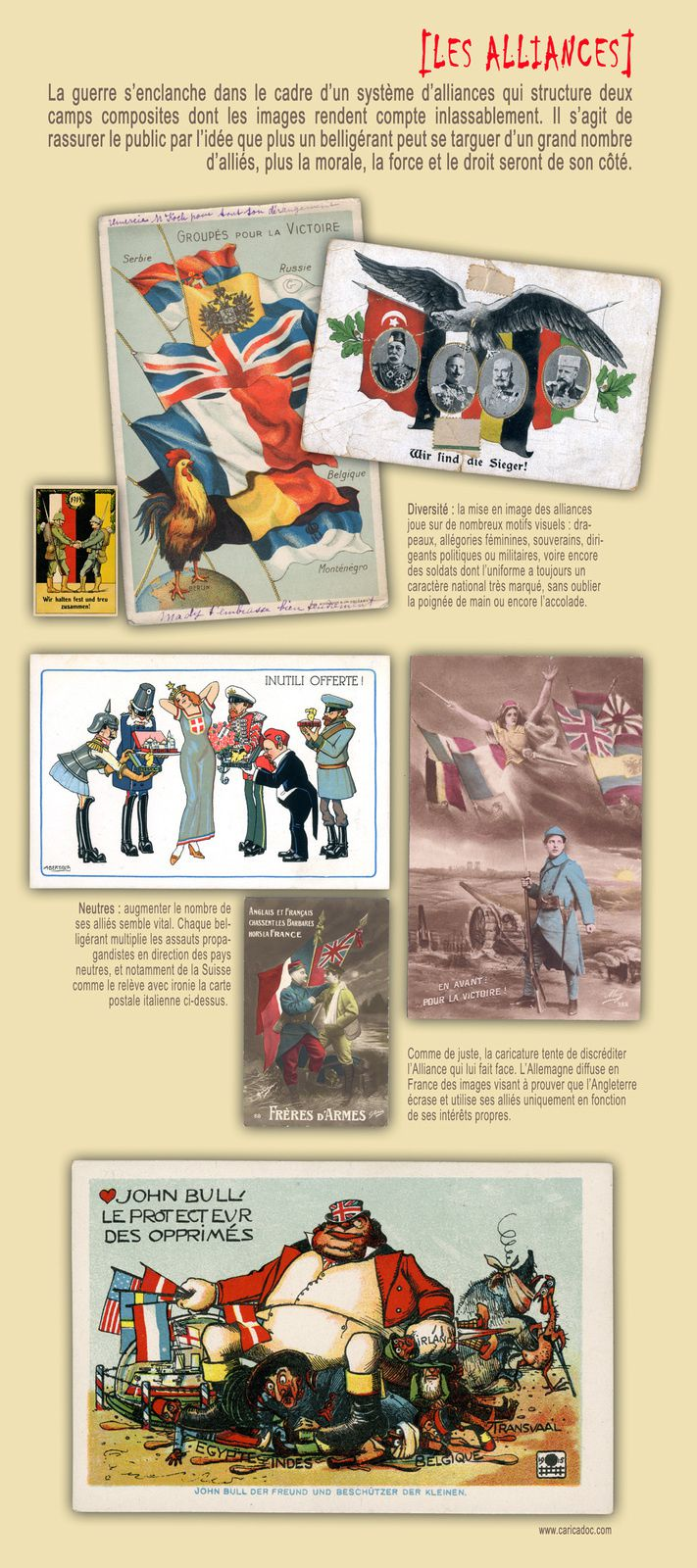 La Grande Guerre des cartes postales : exposition au Puy en Velay