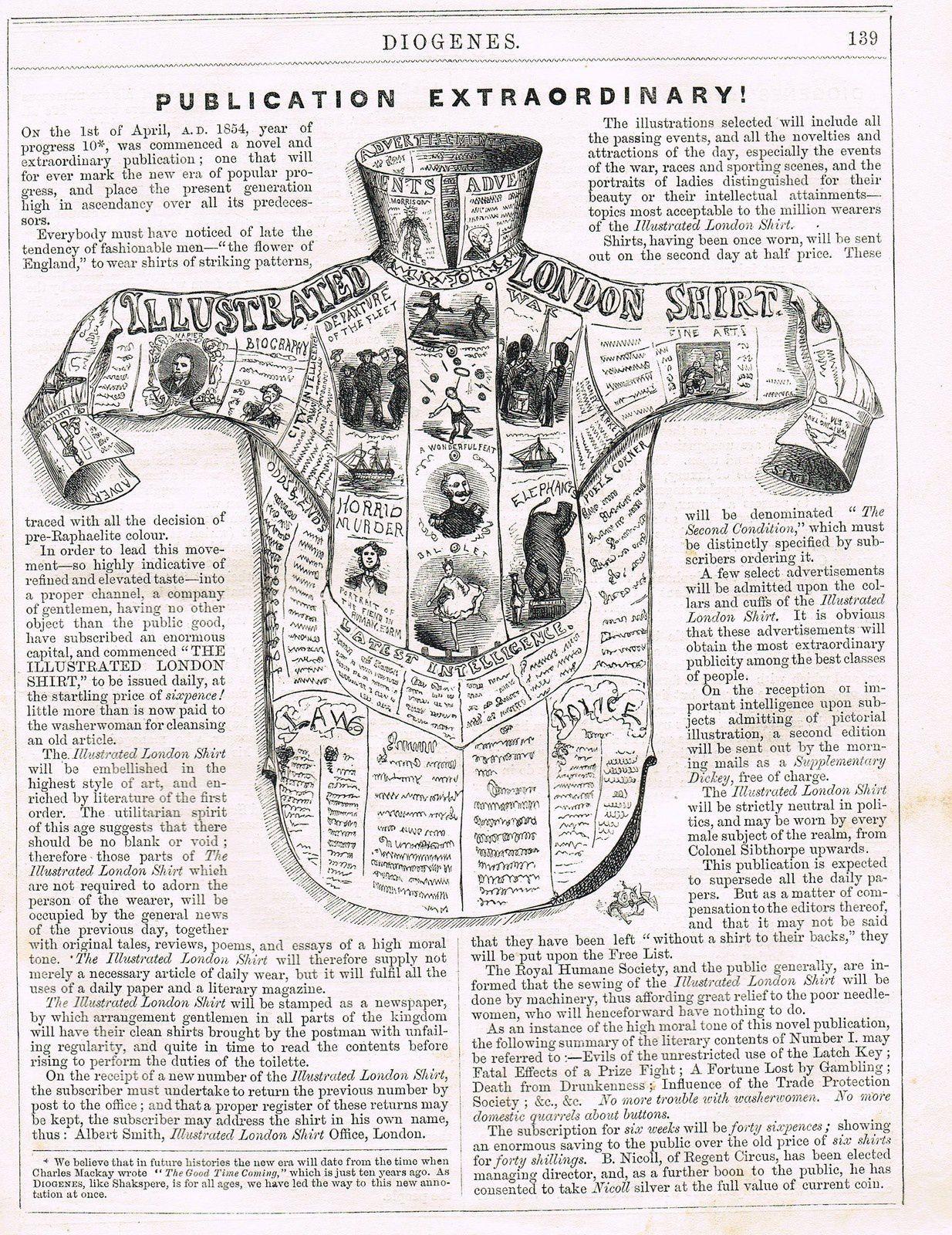 &quot&#x3B;Diogenes (1853-1855), un journal satirique anglais qui manquait de punch ?&quot&#x3B;, par Daniel Dugne