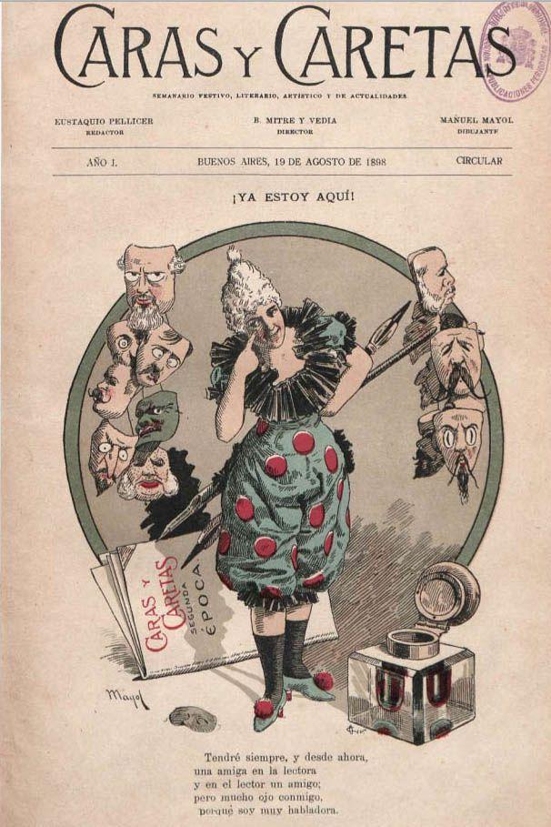 Caras y Caretas 1898 n1 Buenos Aires Argentina