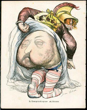 &quot&#x3B;L'impudique Albion&quot&#x3B; de Jean Veber : un dessin censuré ?