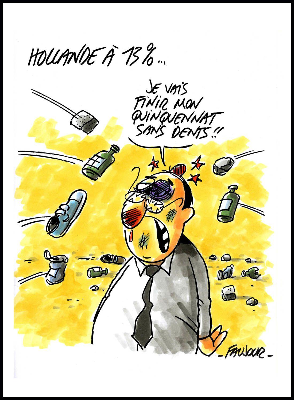 &quot&#x3B;L'actu en dessin de presse&quot&#x3B;, exposition à la fête de Lutte Ouvrière