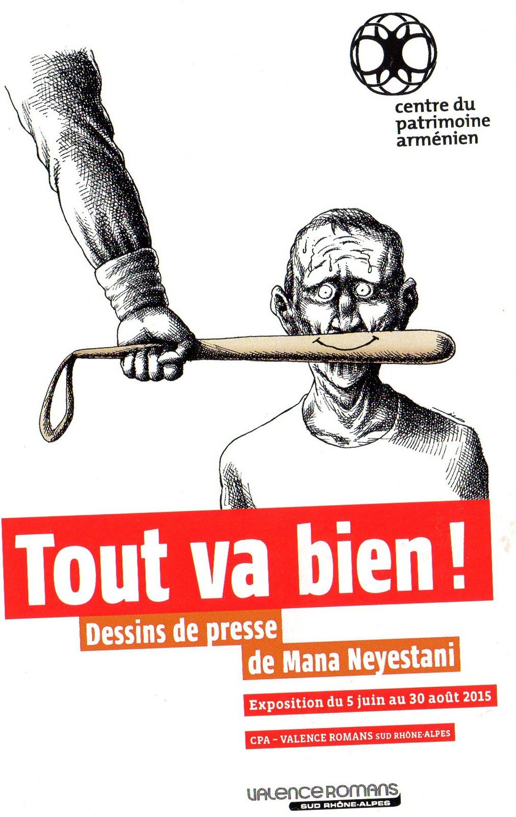 Tout va bien ! exposition de dessins de Mana Neyestani