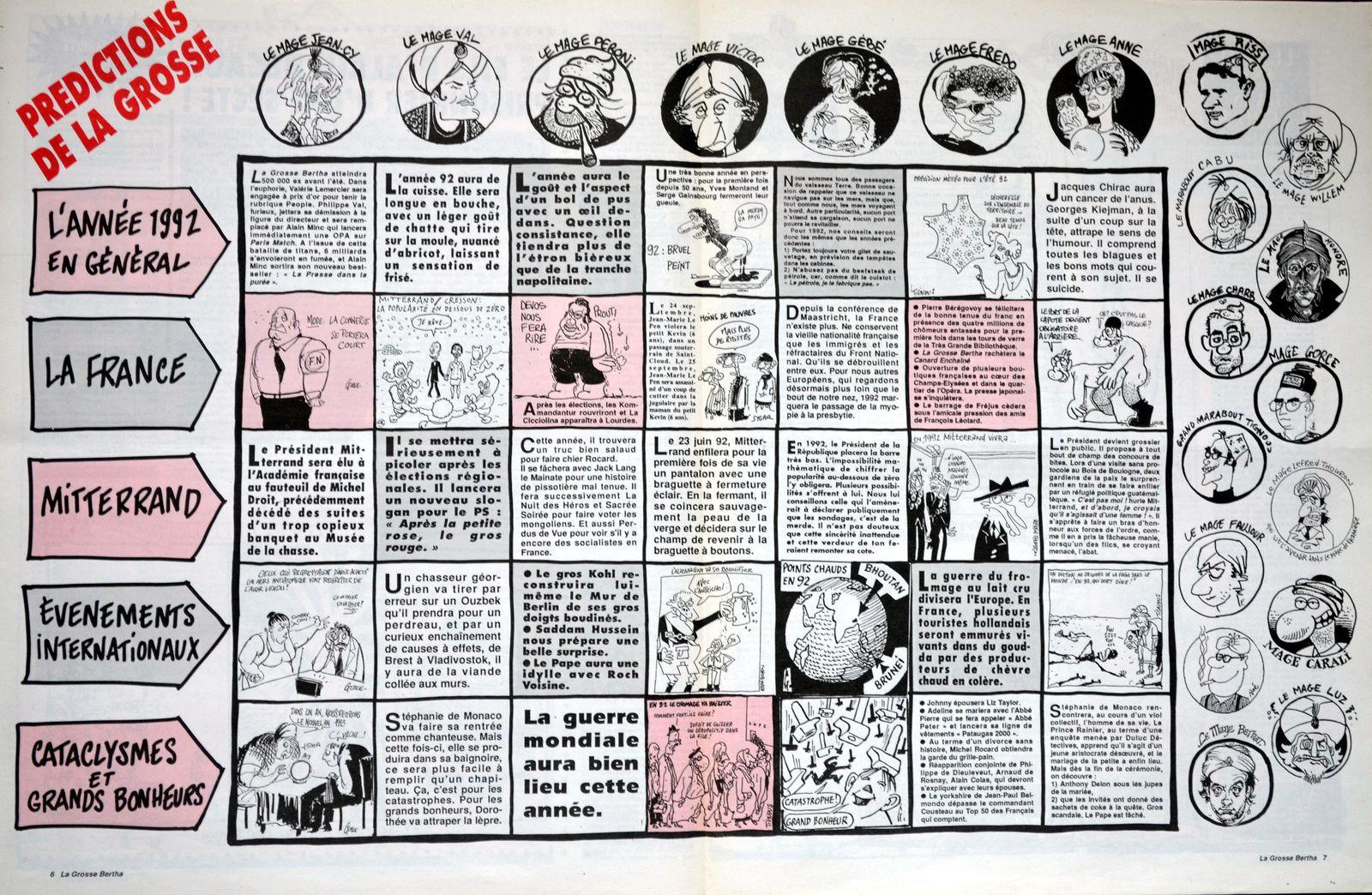 Pages centrales du n°48 – décembre 1991