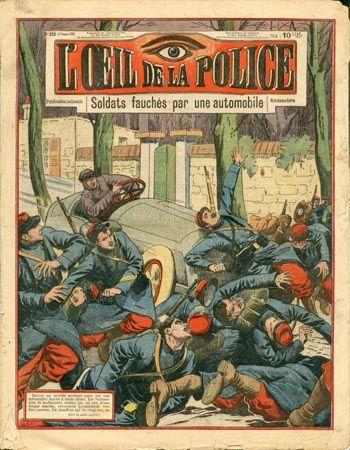 Le journal &quot&#x3B;L'Oeil de la police&quot&#x3B; : le fait-divers en demie teinte