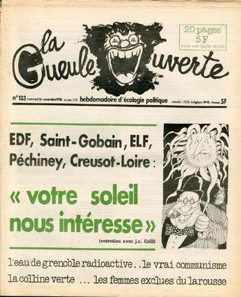 La Gueule ouverte, journal qui annonçait la fin du monde….
