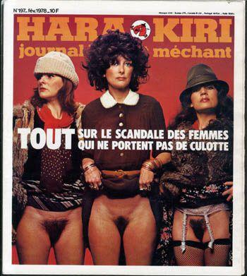 Hara-Kiri mensuel, journal &quot&#x3B;bête et méchant&quot&#x3B; de Choron et Cavanna