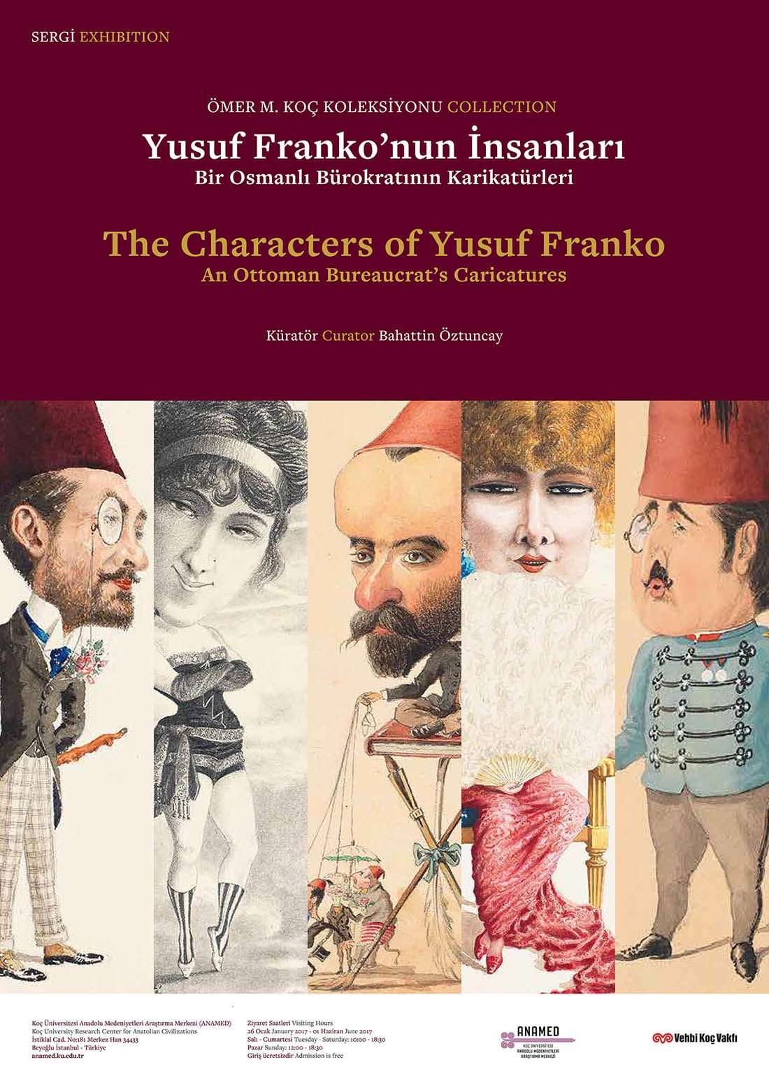 The Characters of Yusuf Franko, exposition actuellement à Istanbul