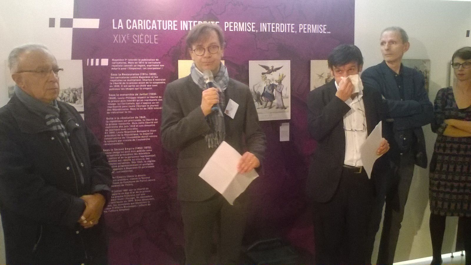 &quot&#x3B;La caricature raconte l'Histoire de France&quot&#x3B;, très sympathique exposition au Musée de Nogent sur Marne