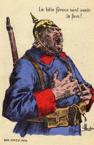 Carte Allemagne Apres Guerre.Les Cartes Postales Satiriques Pendant La Premiere Guerre Mondiale