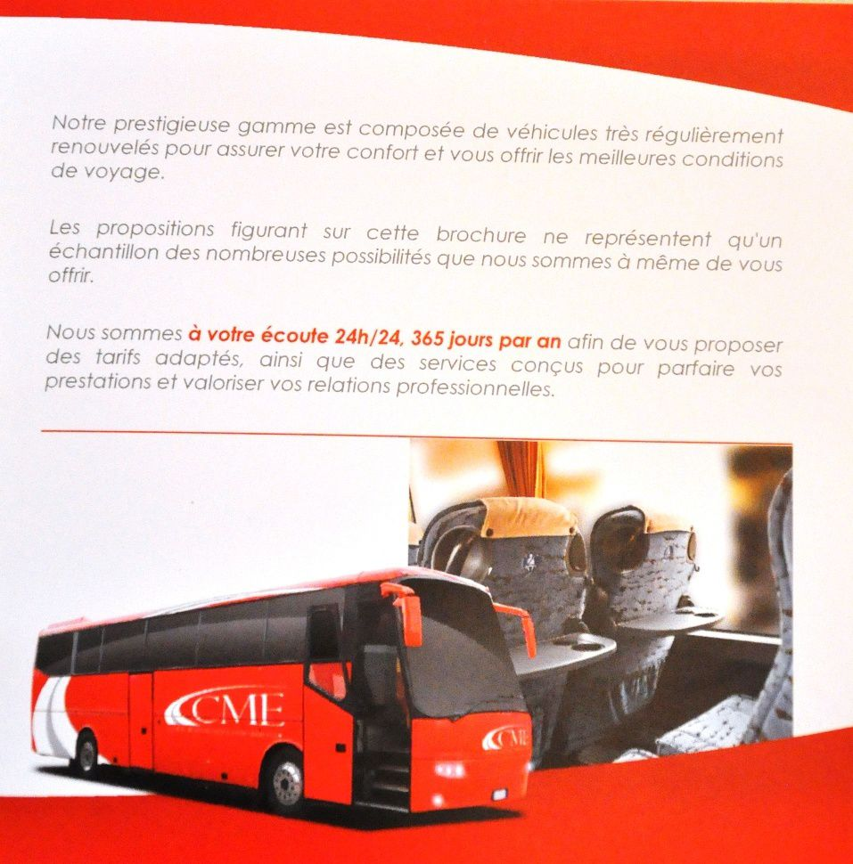 La Compagnie Monegasque D'Excursions (CME BUS)