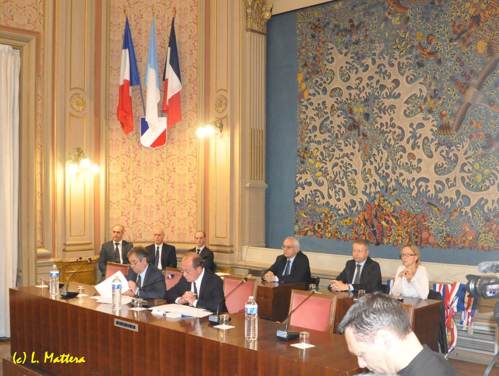 Menton: Jean-Claude Guibal réélu pour un 5ème mandat