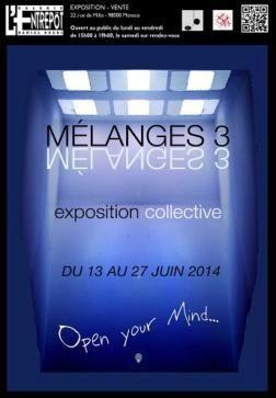 Monaco: L'ENTREPOT - &quot&#x3B;Mélanges 3&quot&#x3B;  du 13 au 27 Juin 2014  et une performance / concert exceptionnel de Nicolas Horvath