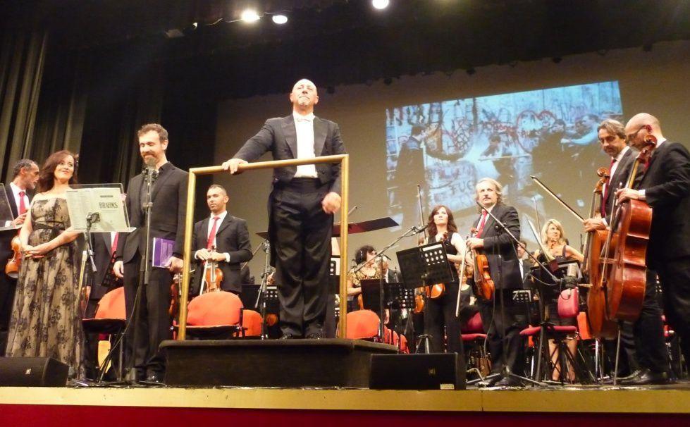 Il maestro Bruno Santori