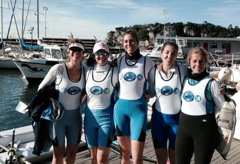 Nizza: Canottieri Sanremo/ La Baie des Anges sorride ai colori bianco azzurri del remo matuziano
