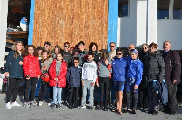 Canottieri Sanremo/ visita del Presidente della Federazione Italiana Canoa Kayak (F.I.C.K.) e Vice Presidente del Coni Nazionale Luciano Buonfiglio.