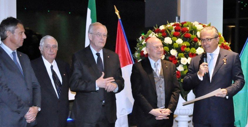 Monaco: Discorso dell'Ambasciatore Antonio Morabito in occasione della cerimonia d'onorificenza in onore del dott. Francesco Grosoli